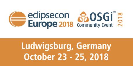 Schedule | EclipseCon Europe 2018